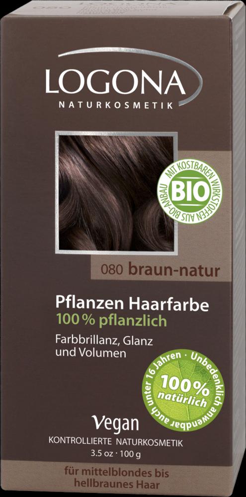 Logona Hnedá natural farba na vlasy 100% prírodná 8d58e9e385b