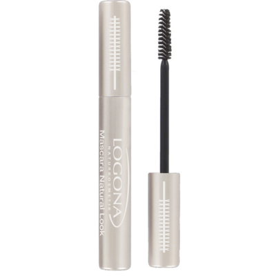 Logona Mascara Natural Look - čierna, 8 ml