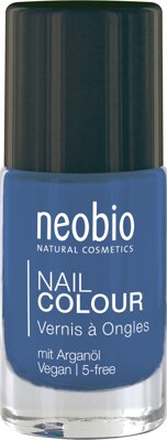 Lak na nechty 08 Shiny Blue, Neobio 8 ml