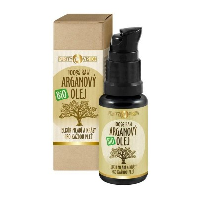 Arganový olej BIO RAW Purity Vision, 30 ml