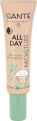 Sante All Day Moisture 24h Fresh Skin make-up 02, piesková 30 ml