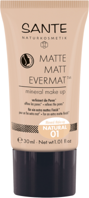 Sante Matte Matt Evermat TM minerálny make-up 01, natural 30 ml