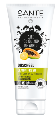 Sante Sprchový gél Lemon Fresh, 200 ml