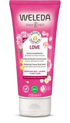 Weleda Aroma Shower Love sprchový gél, 200 ml