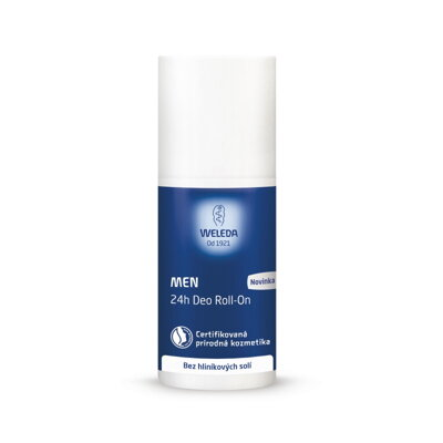 Weleda Deo pánska gulička Men 24h Roll-on, 50 ml